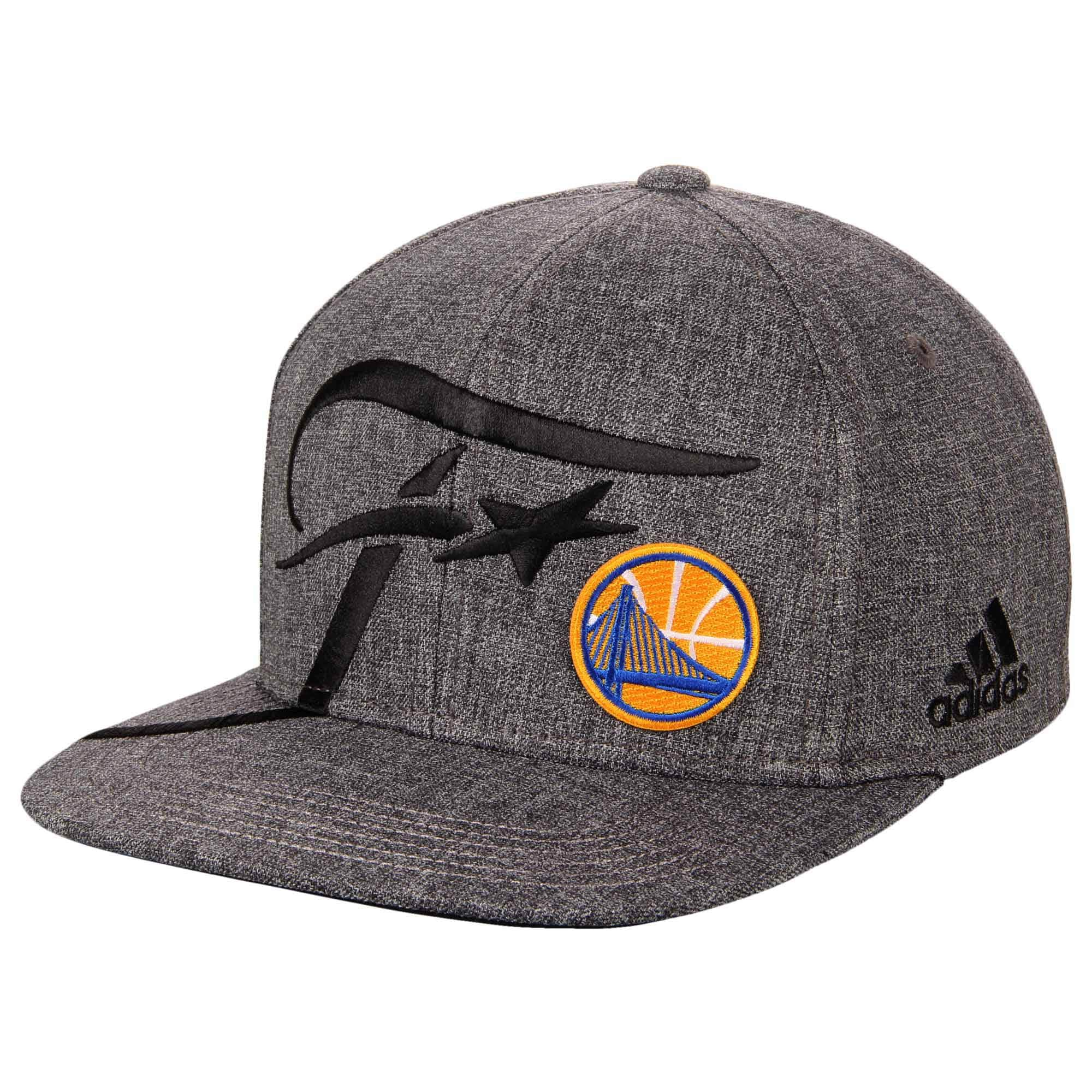 Golden State Warriors adidas 2016 Western Conference Champions Locker Room Adjustable Snapback Hat - Heathered Gray