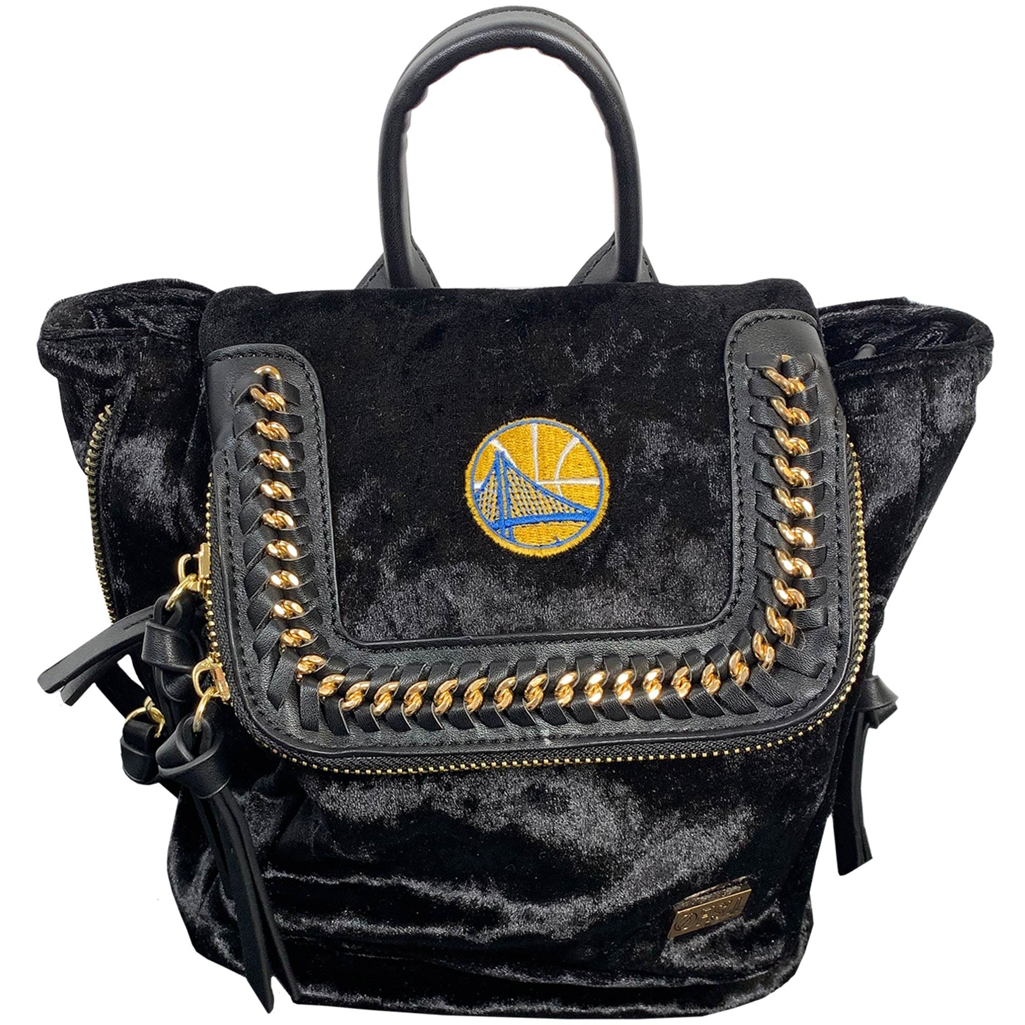 Golden State Warriors Velvet Mini Backpack