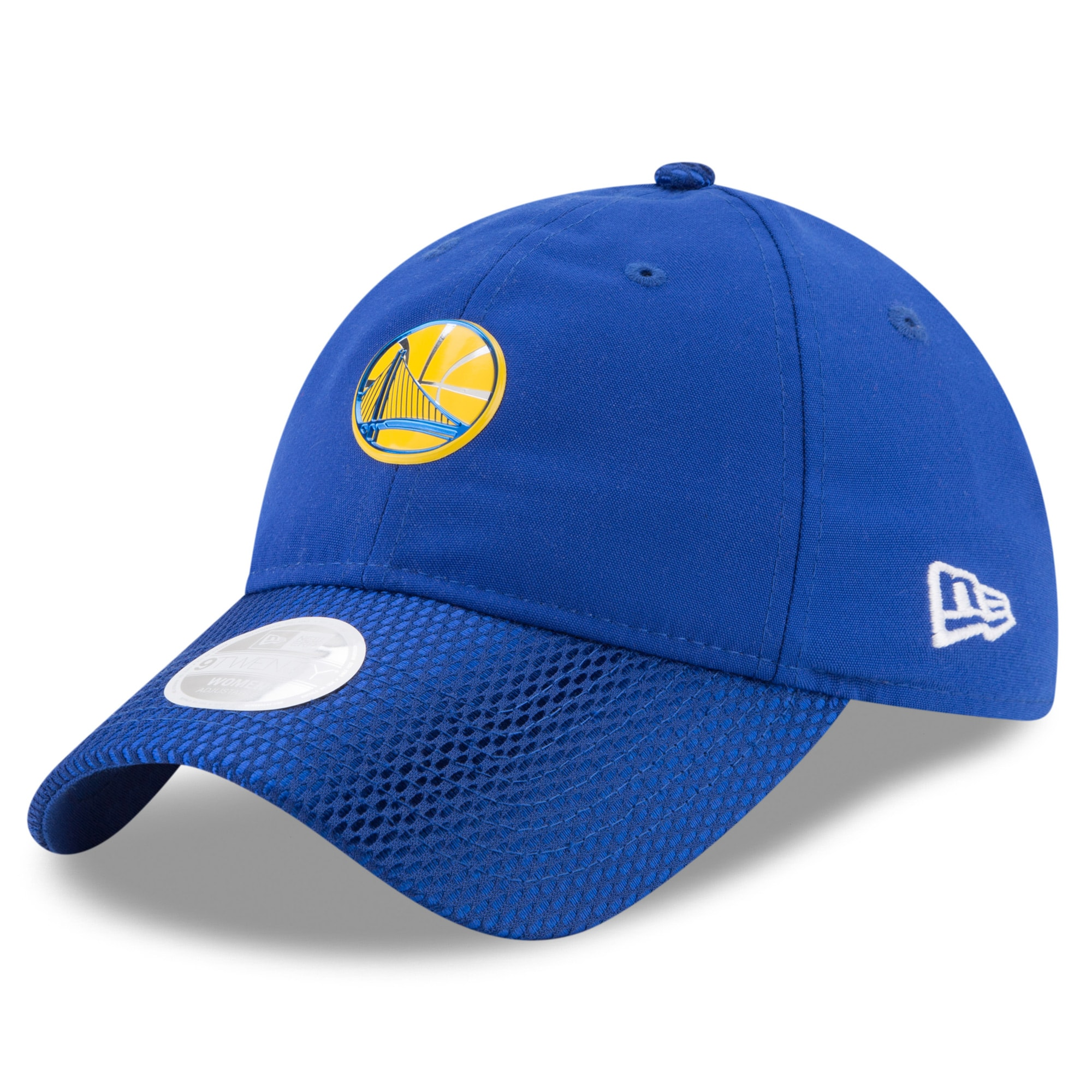 Golden State Warriors New Era Women's On-Court 9TWENTY Adjustable Hat - Royal
