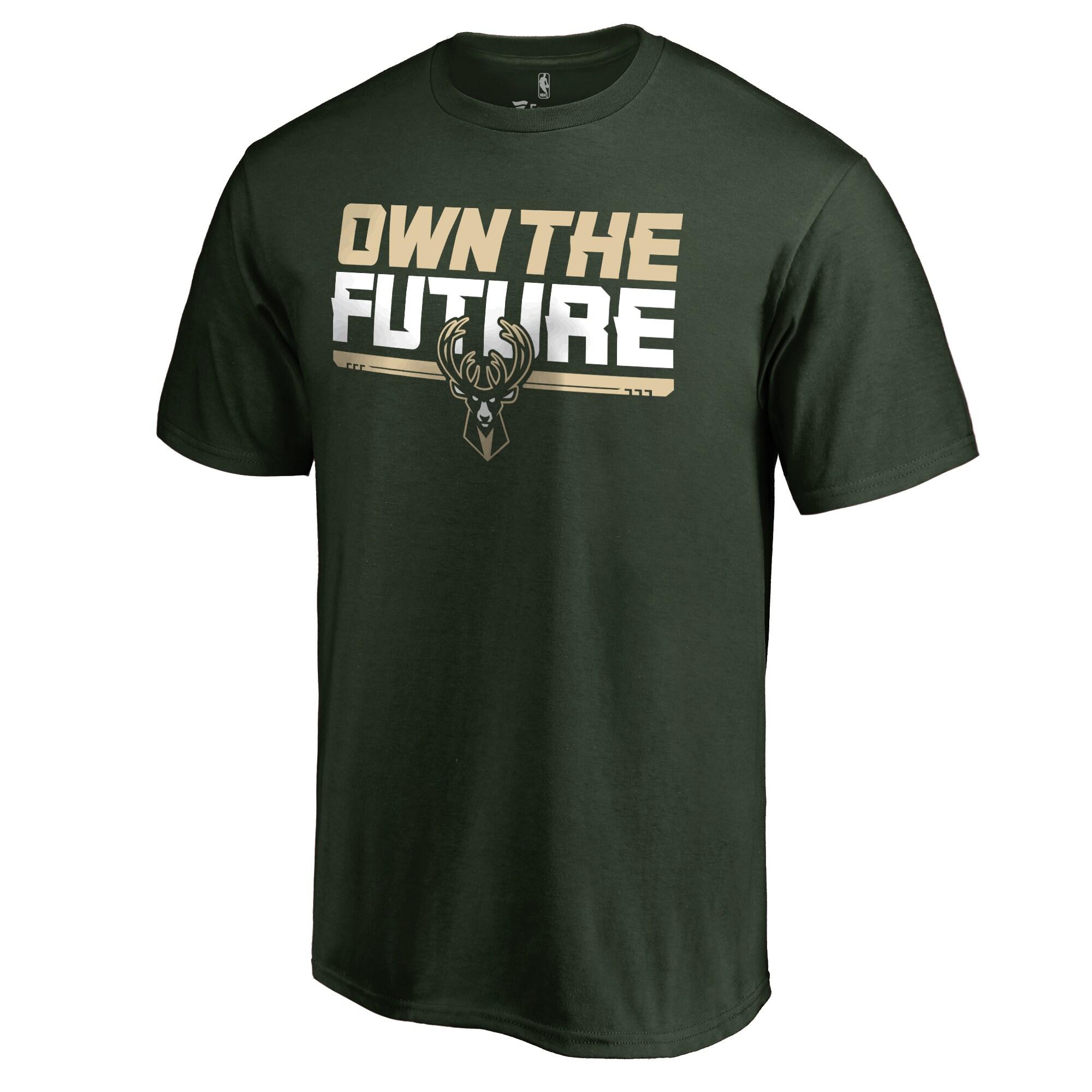 Milwaukee Bucks #Ownthefuture T-Shirt - Green