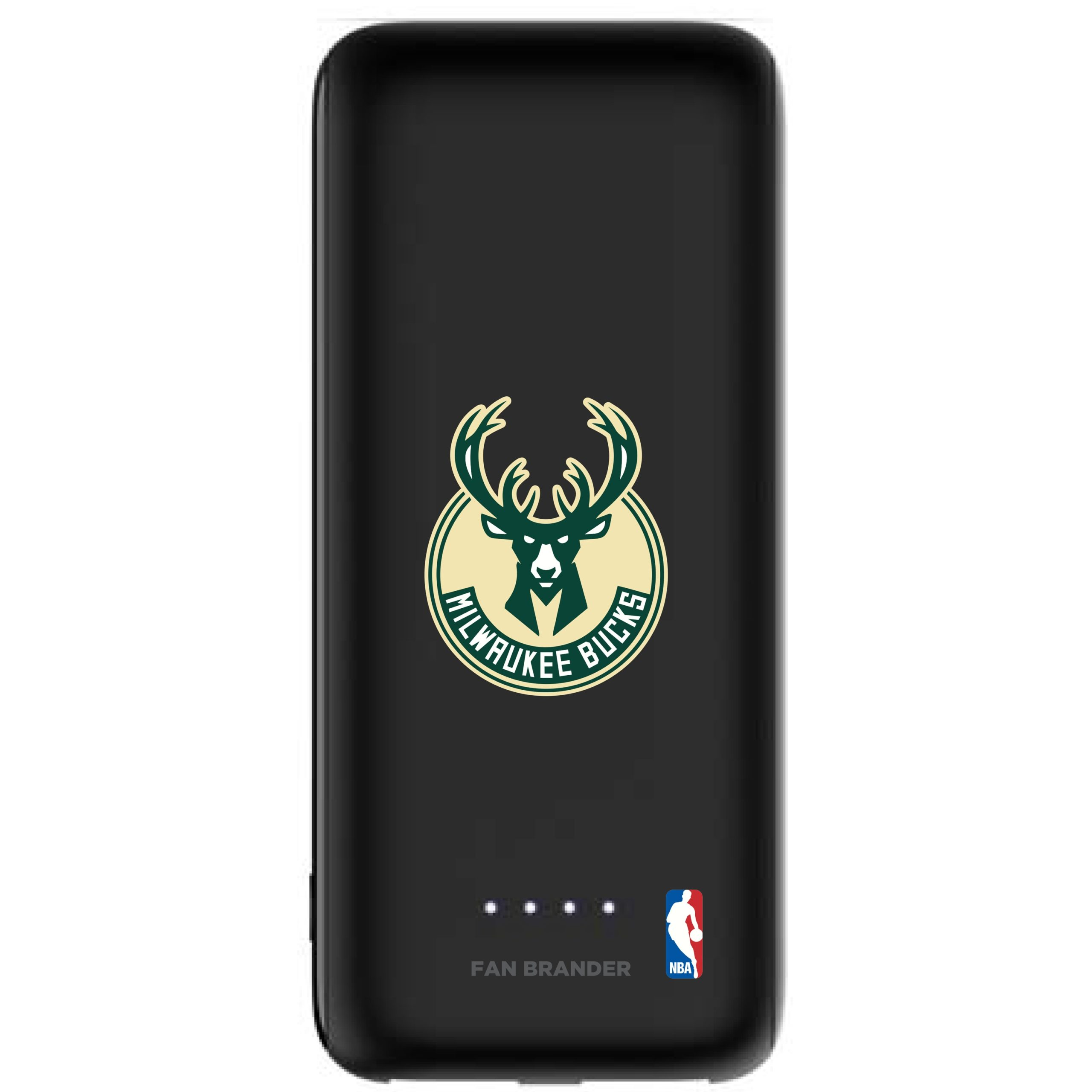 Milwaukee Bucks mophie 5200 mAh Universal Battery Power Boost