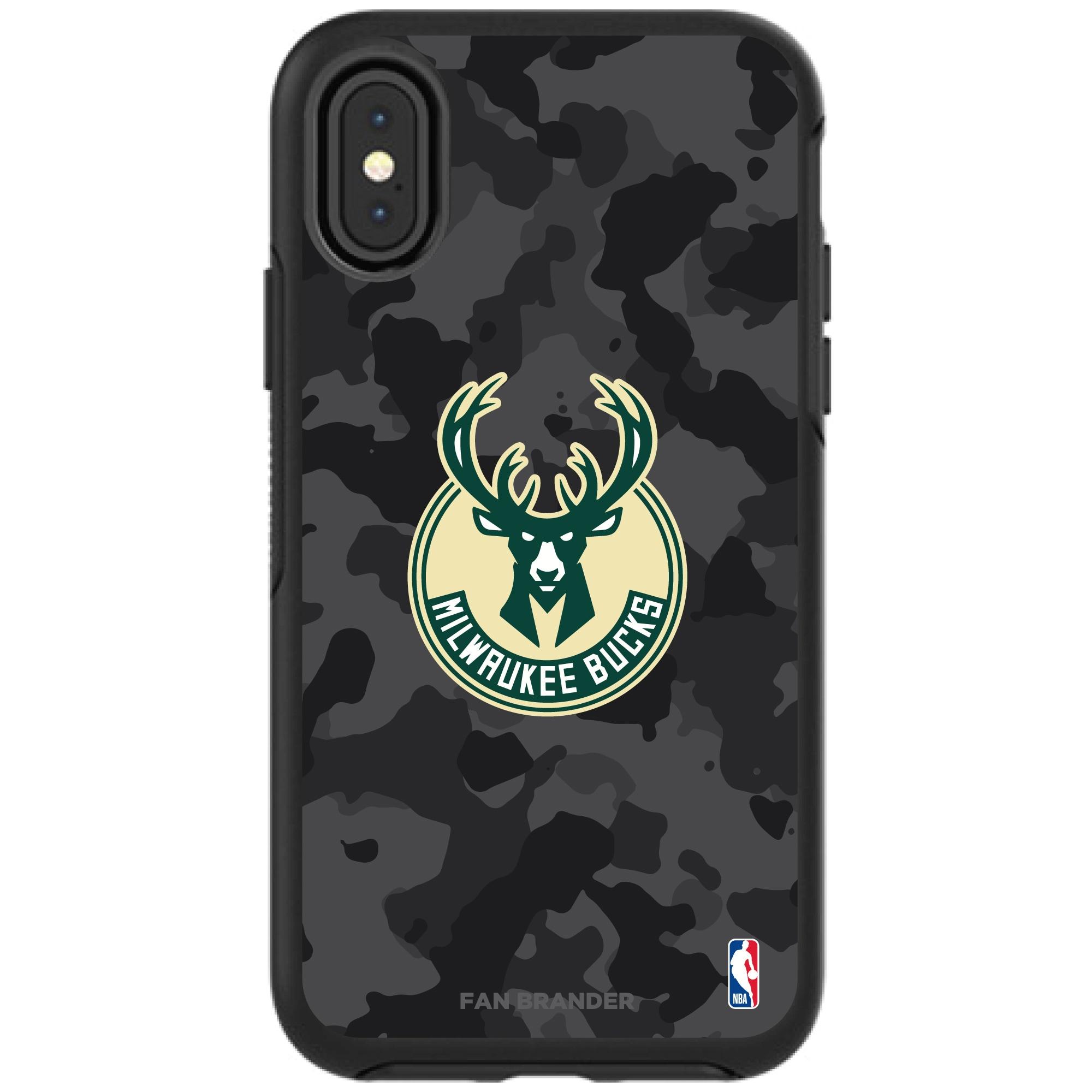 Milwaukee Bucks OtterBox Urban Camo iPhone Case