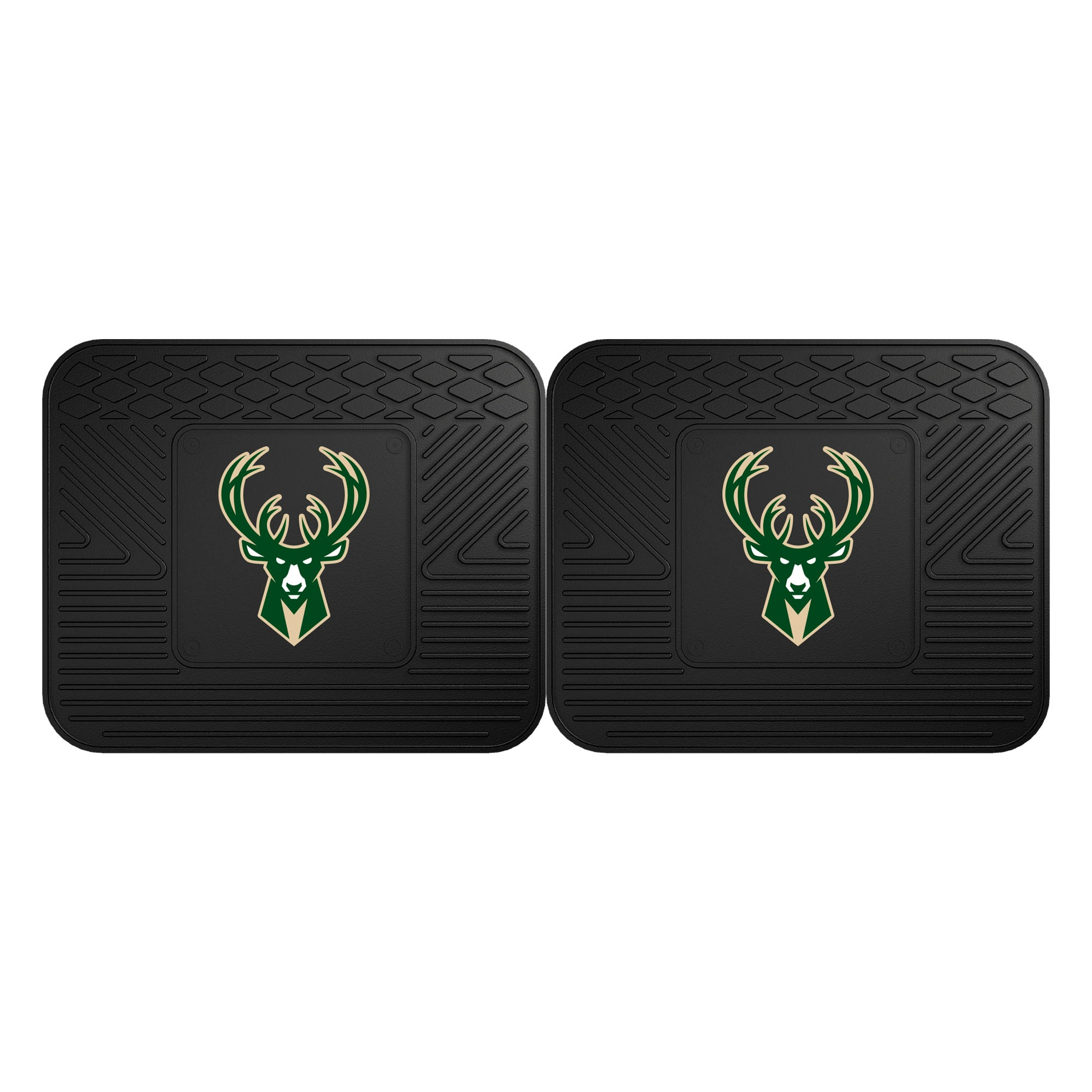 Milwaukee Bucks 2-Pack Utility Mat Set