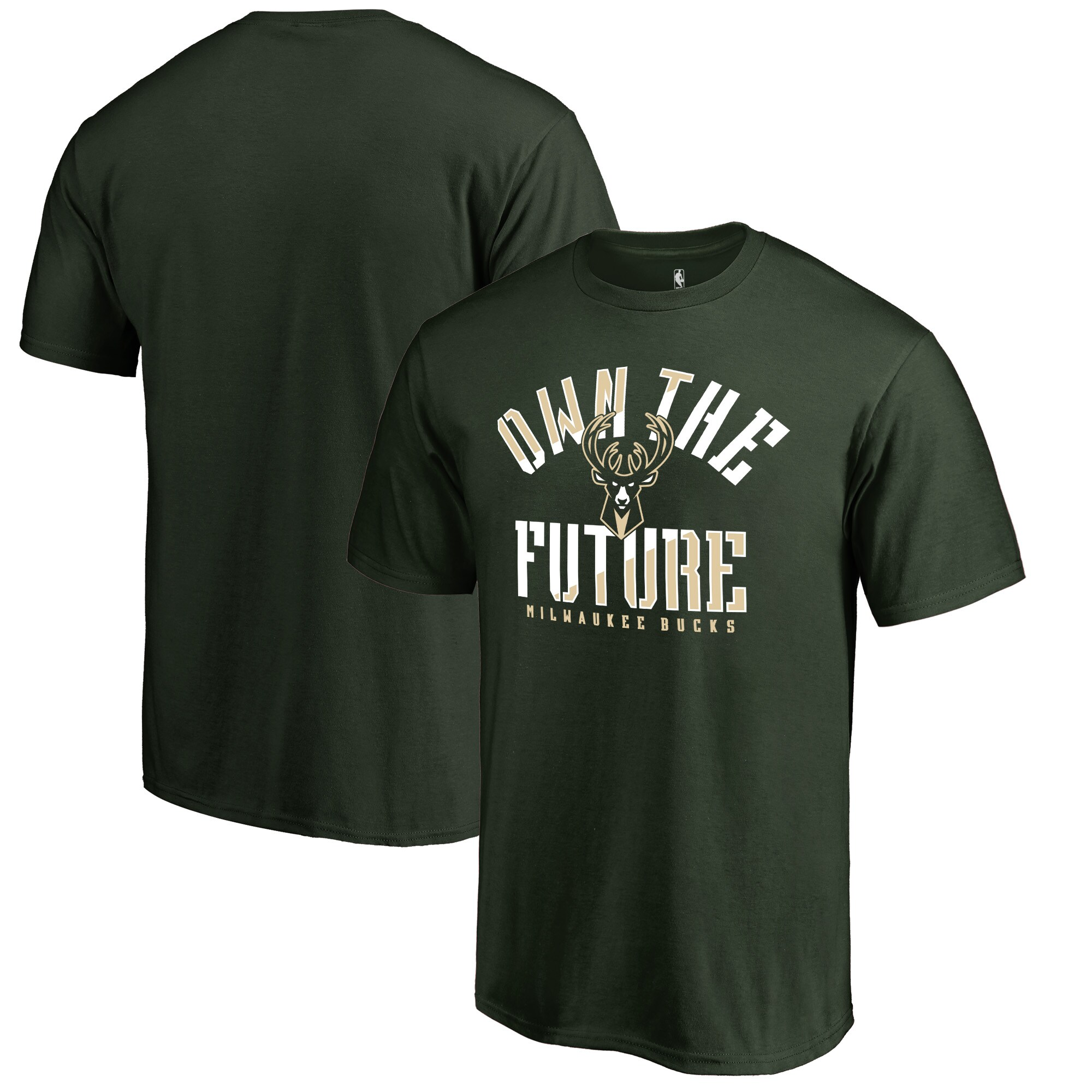Milwaukee Bucks Fanatics Branded The Future Hometown Collection T-Shirt - Green
