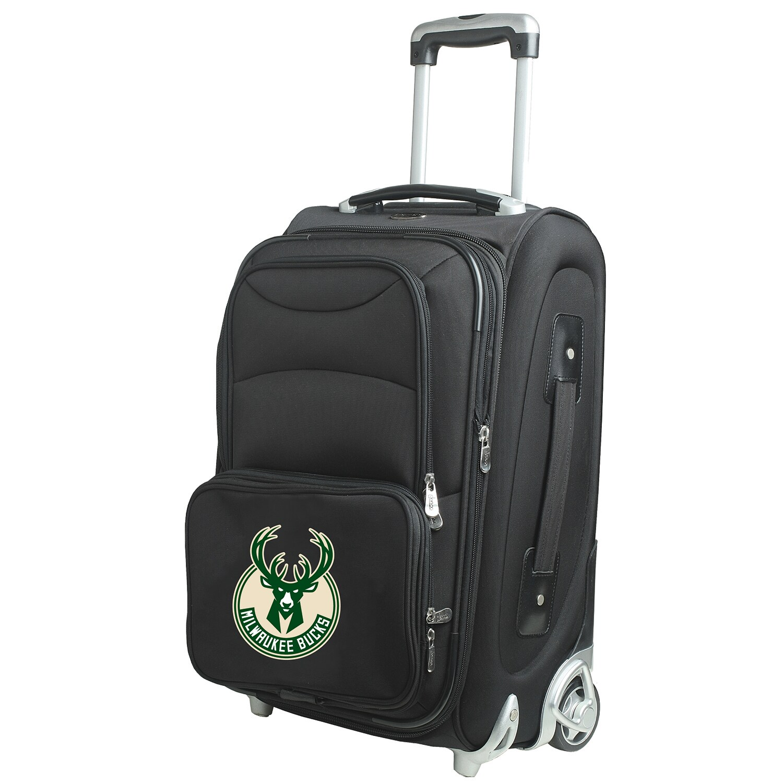 "Milwaukee Bucks 21"" Rolling Carry-On Suitcase"