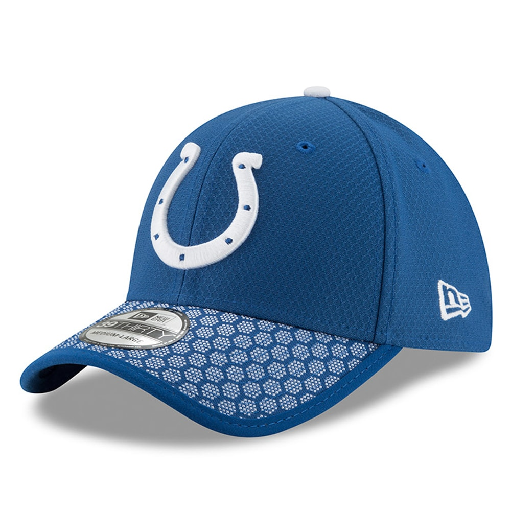 Indianapolis Colts New Era 2017 Sideline Official 39THIRTY Flex Hat - Royal