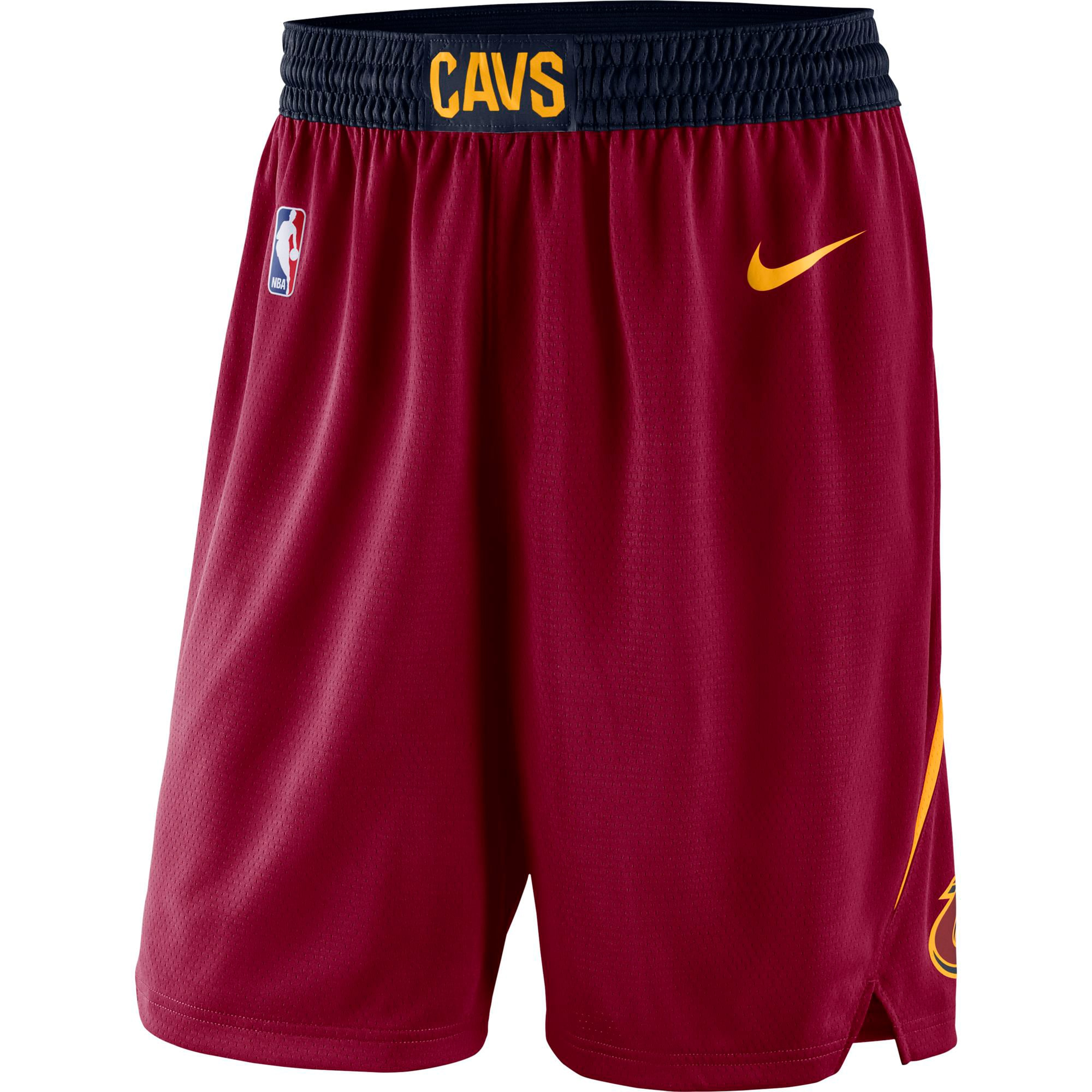 Cleveland Cavaliers Nike Icon Swingman Basketball Shorts - Wine