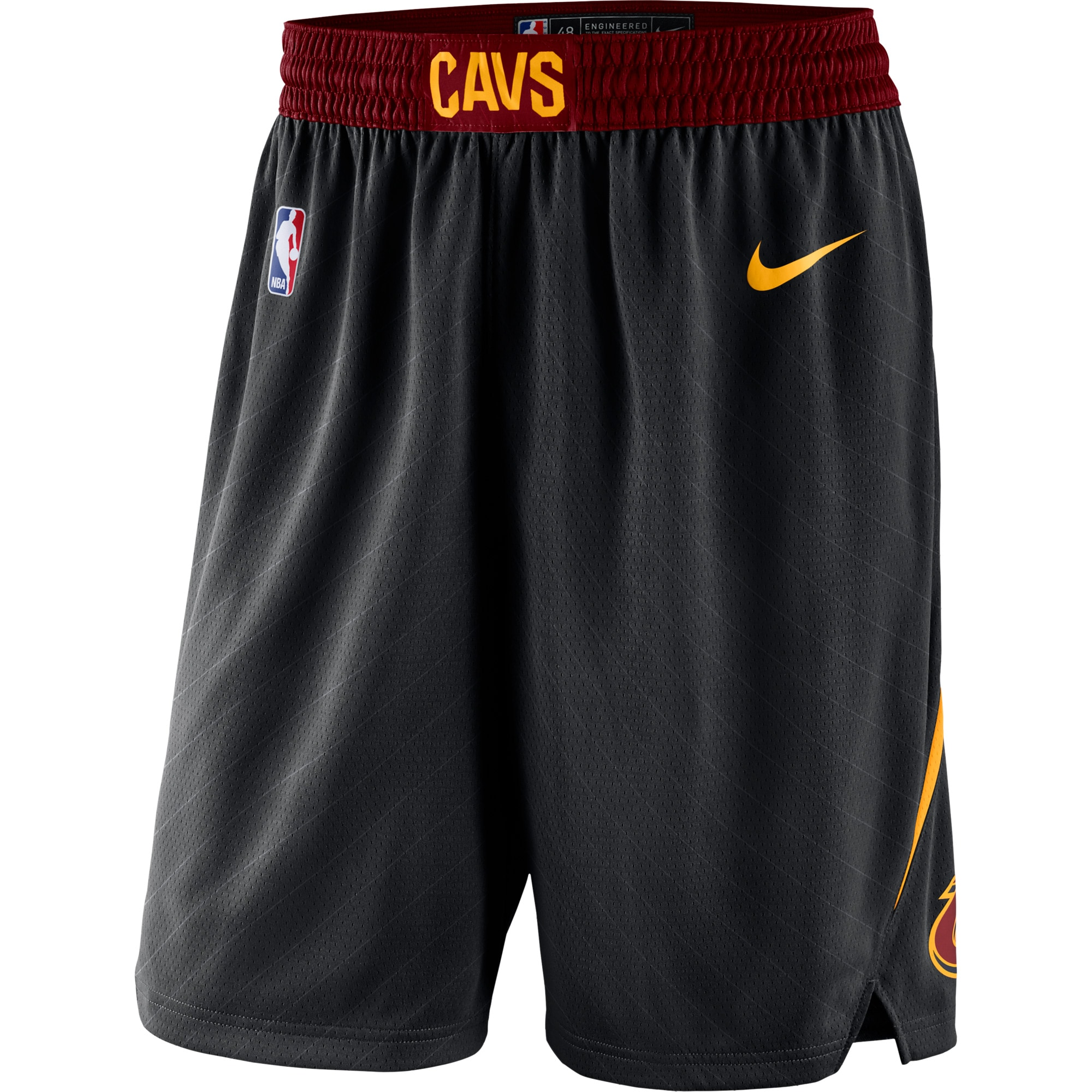 Cleveland Cavaliers Nike Statement Swingman Basketball Shorts - Black
