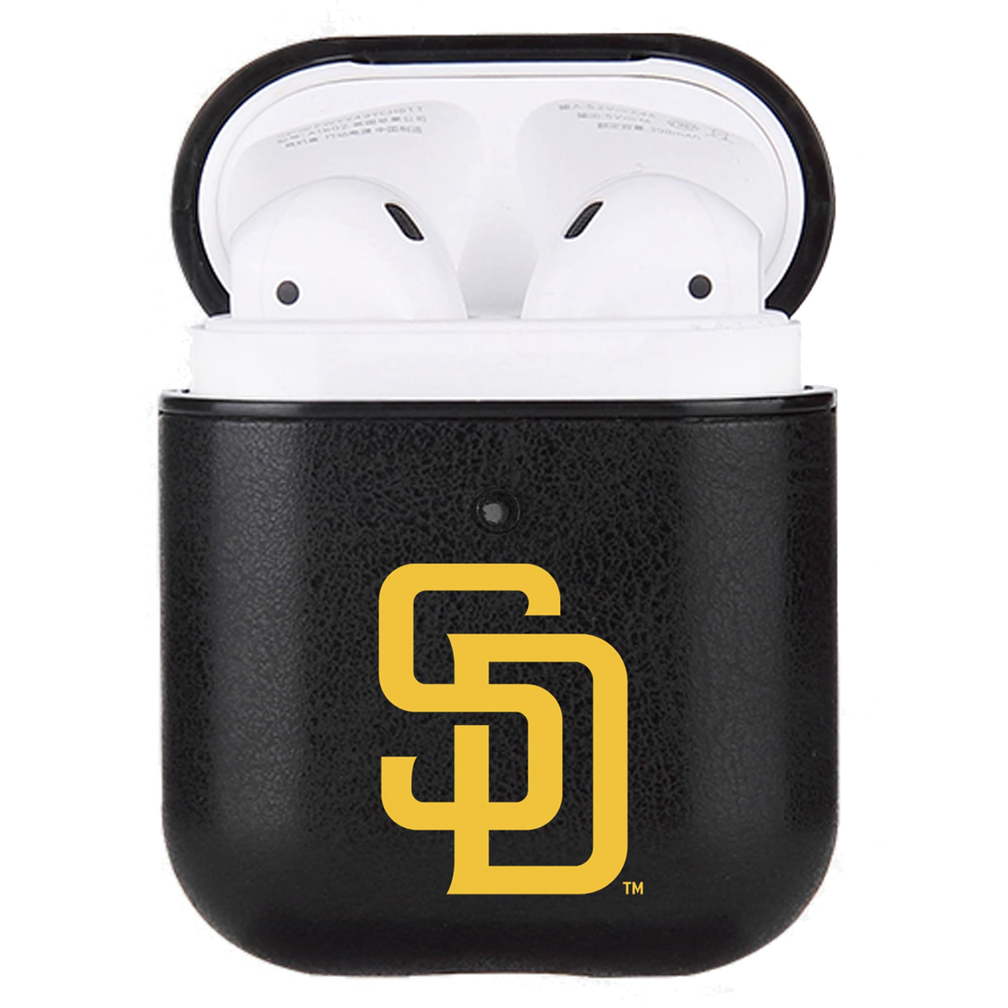 San Diego Padres Air Pods Primary Mark Leatherette Case