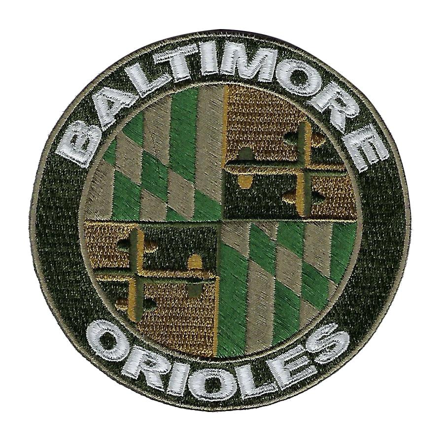 Baltimore Orioles 2018 Memorial Day USMC Logo Patch