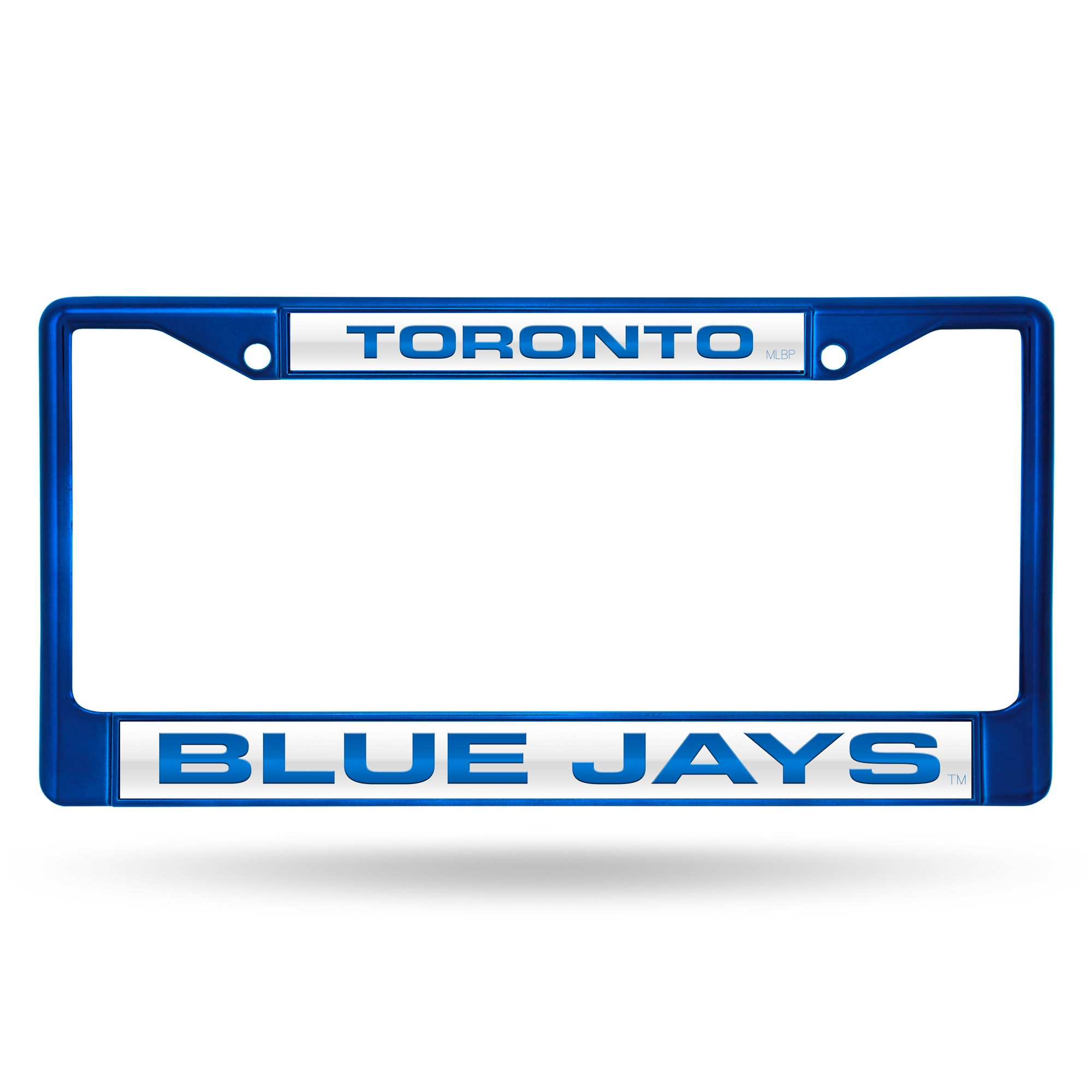 Toronto Blue Jays Laser Chrome Licence Plate Frame