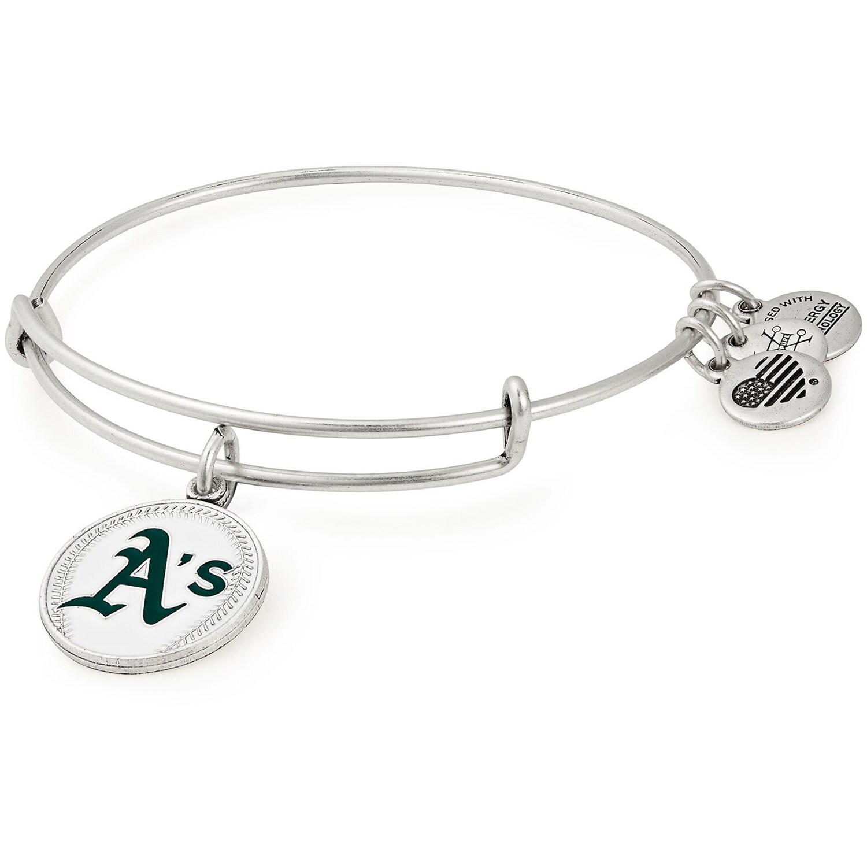 Oakland Athletics Alex & Ani Women's Stack Bracelet