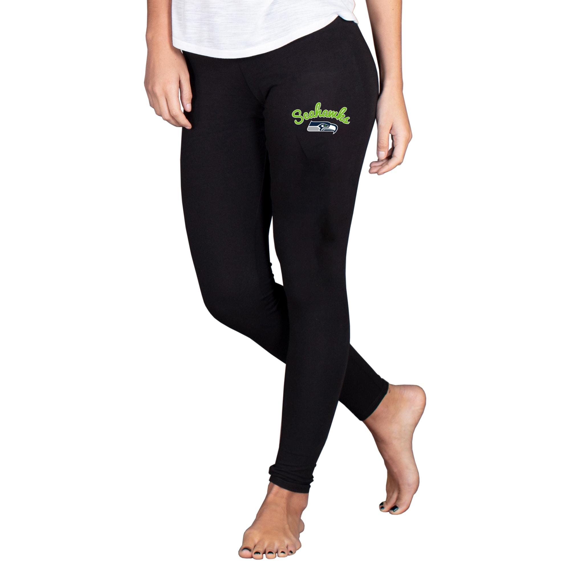 Seattle Seahawks Concepts Sport Women's Fraction Leggings - Black