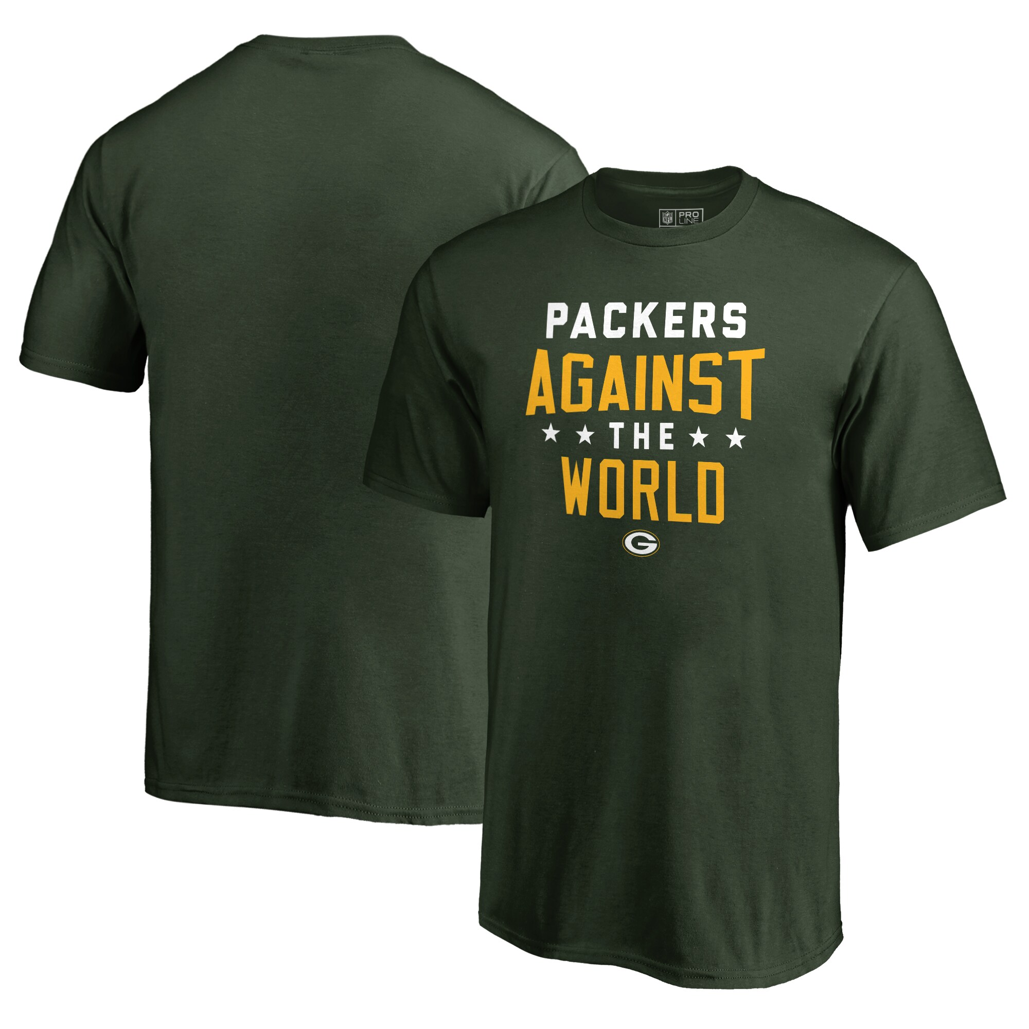 Green Bay Packers NFL Pro Line by Fanatics Branded Youth Against The World T-Shirt - Green