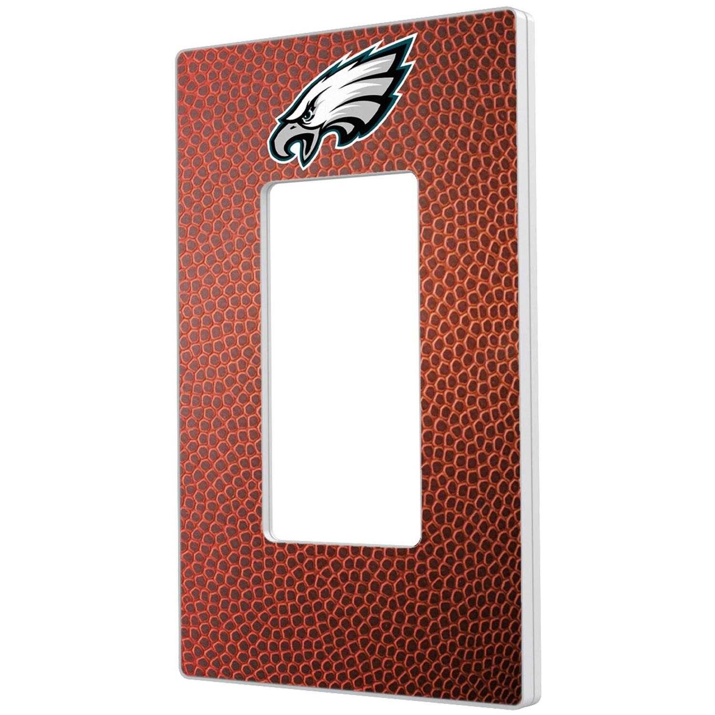 Philadelphia Eagles Football Design Single Rocker Light Switch Plate