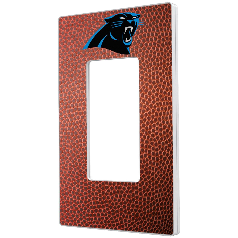 Carolina Panthers Football Design Single Rocker Light Switch Plate