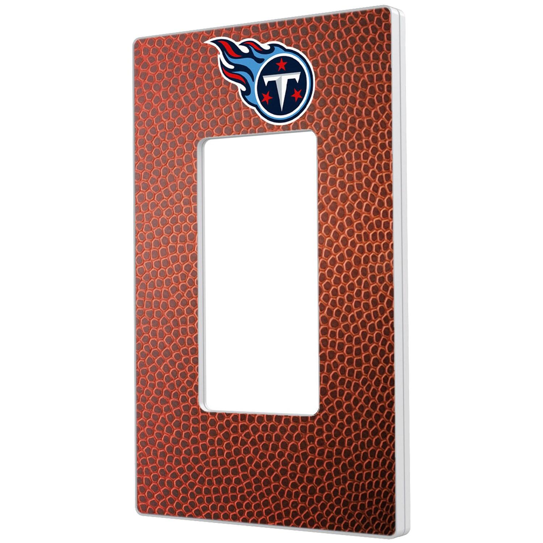 Tennessee Titans Football Design Single Rocker Light Switch Plate