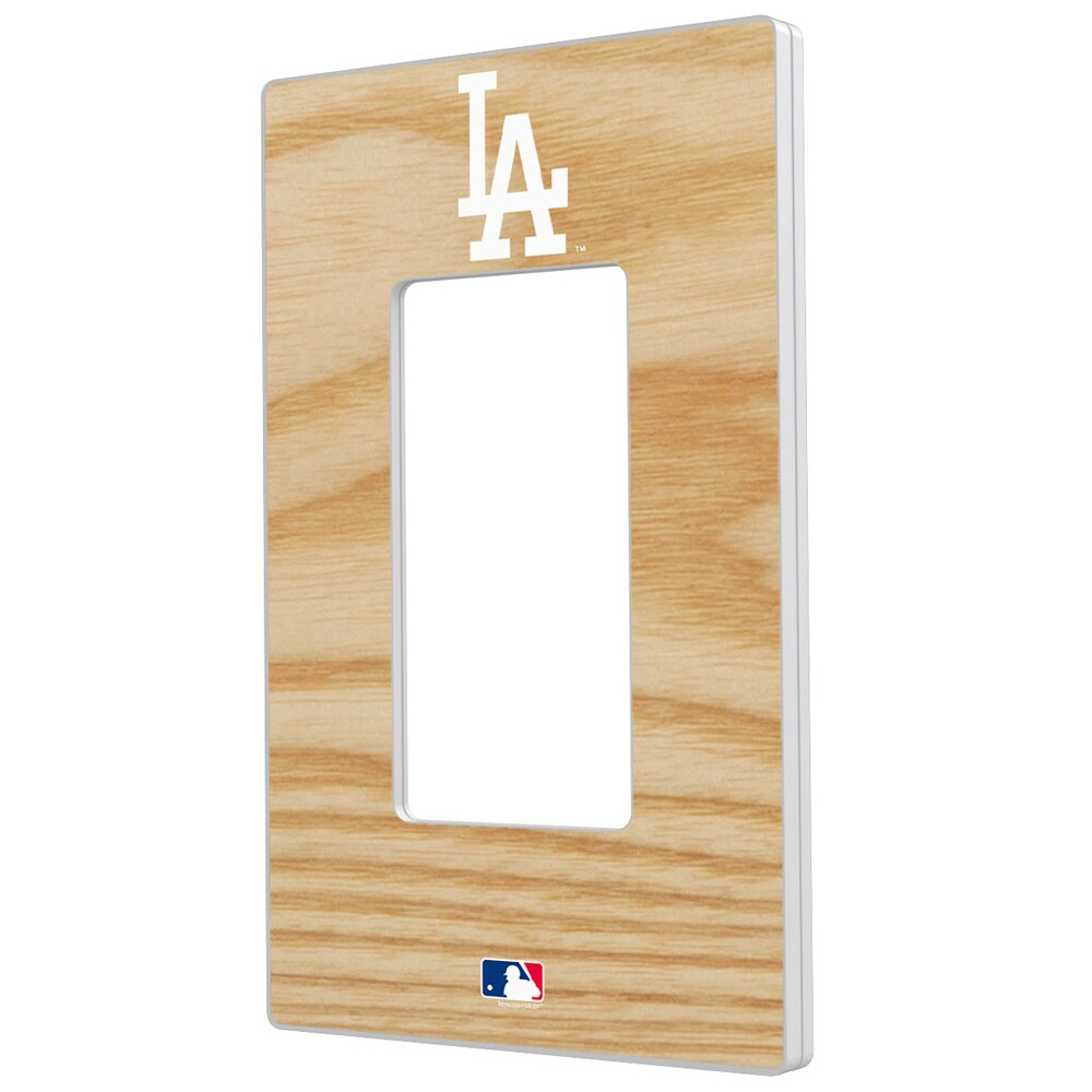 Los Angeles Dodgers Baseball Bat Design Single Rocker Light Switch Plate