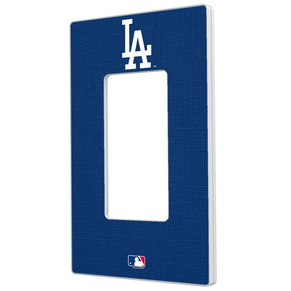 Los Angeles Dodgers Solid Single Rocker Light Switch Plate