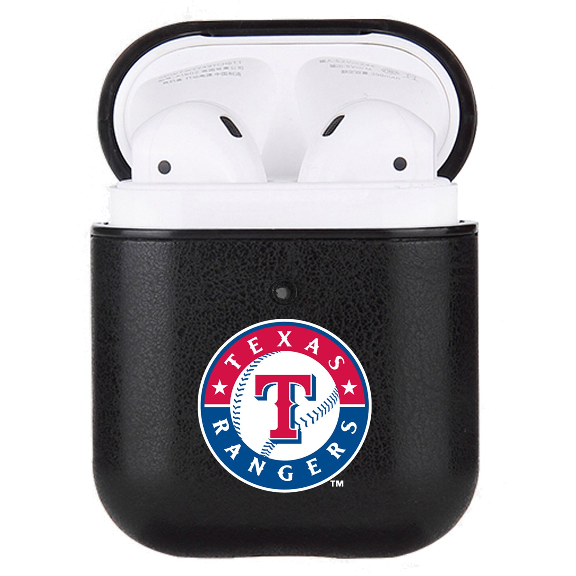 Texas Rangers Air Pods Primary Mark Leatherette Case