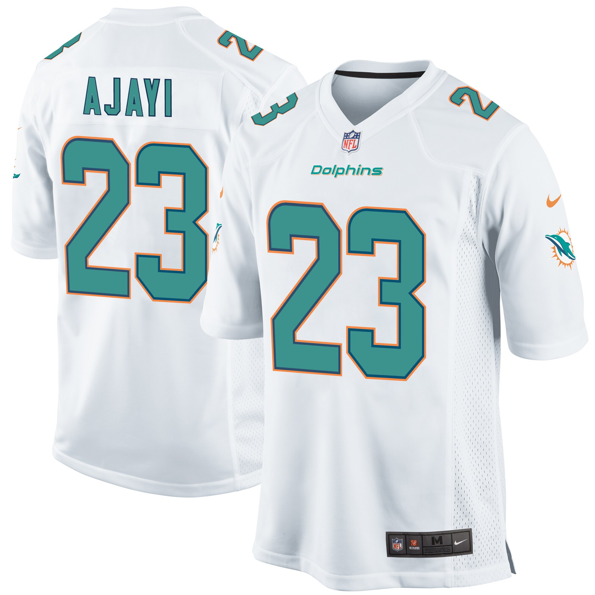 Jay Ajayi Miami Dolphins Nike Youth Game Jersey - White