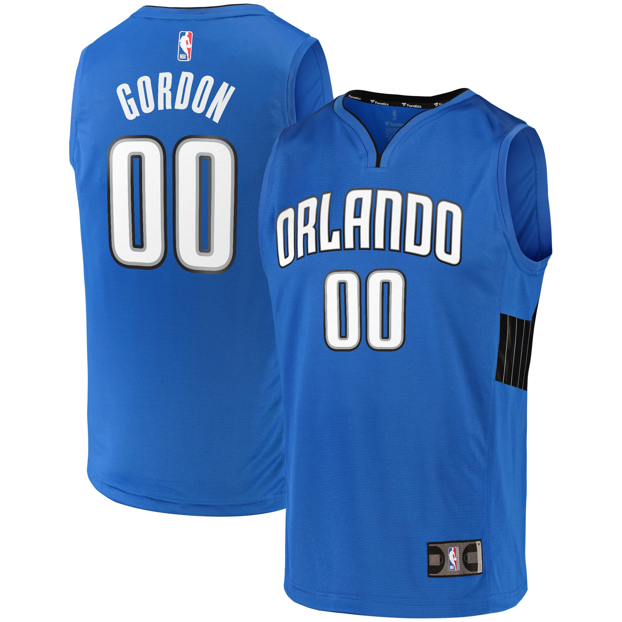 Aaron Gordon Orlando Magic Fanatics Branded Fast Break Team Replica Jersey Blue - Statement Edition