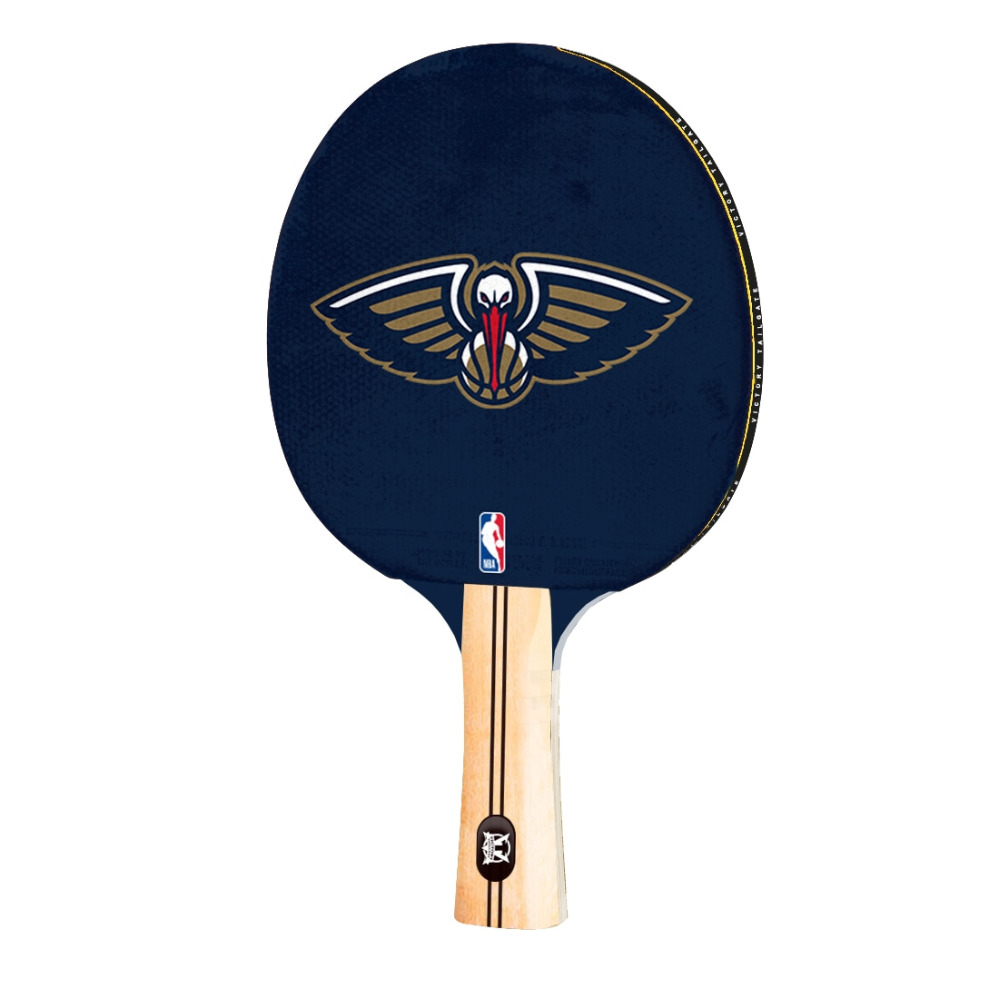 New Orleans Pelicans Logo Table Tennis Paddle
