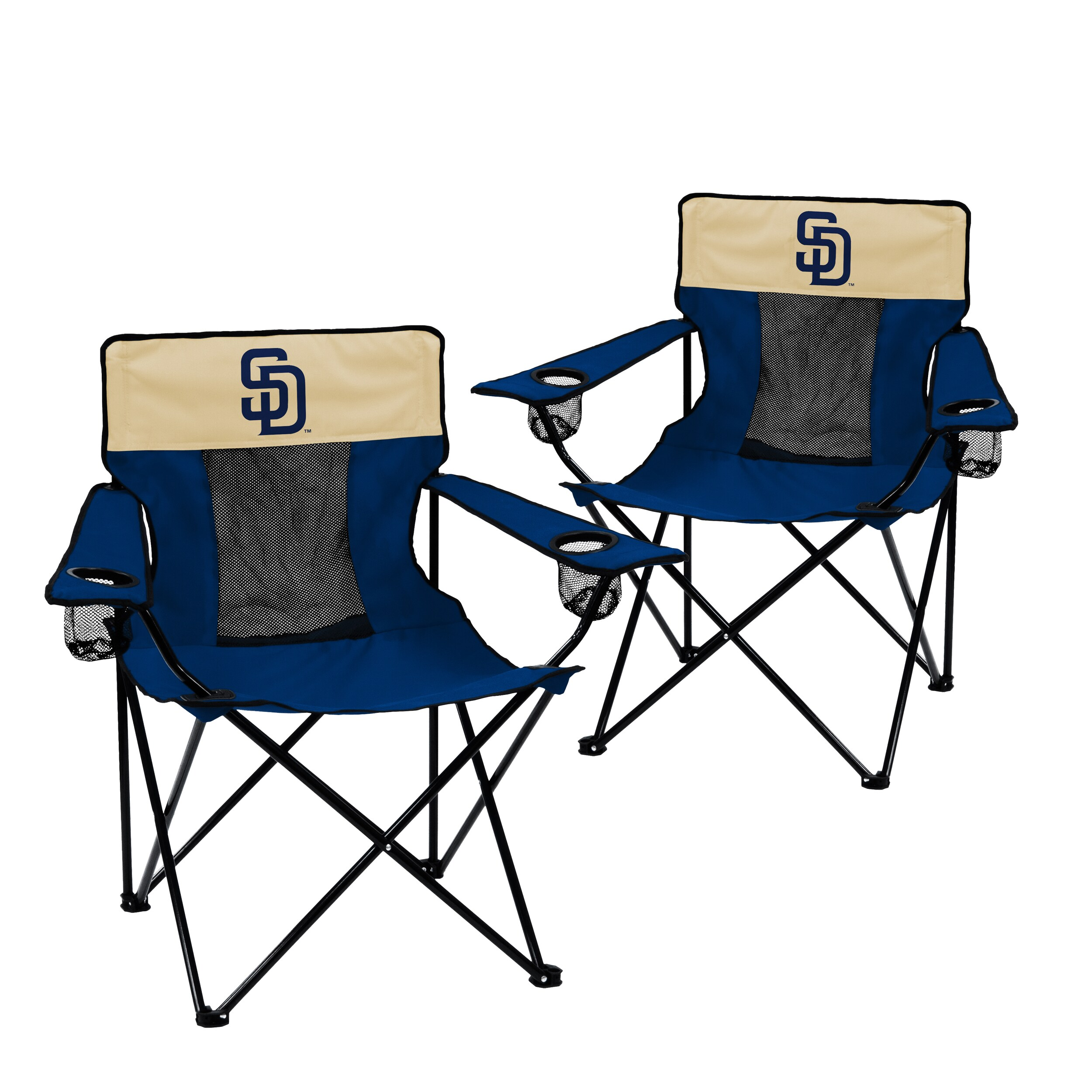 San Diego Padres 2-Pack Elite Chair Set