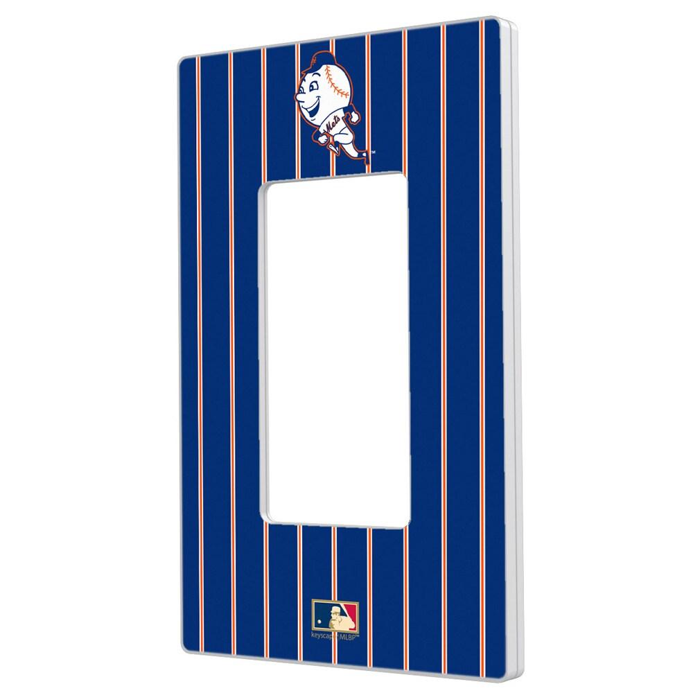 New York Mets 2014 Cooperstown Pinstripe Single Rocker Light Switch Plate