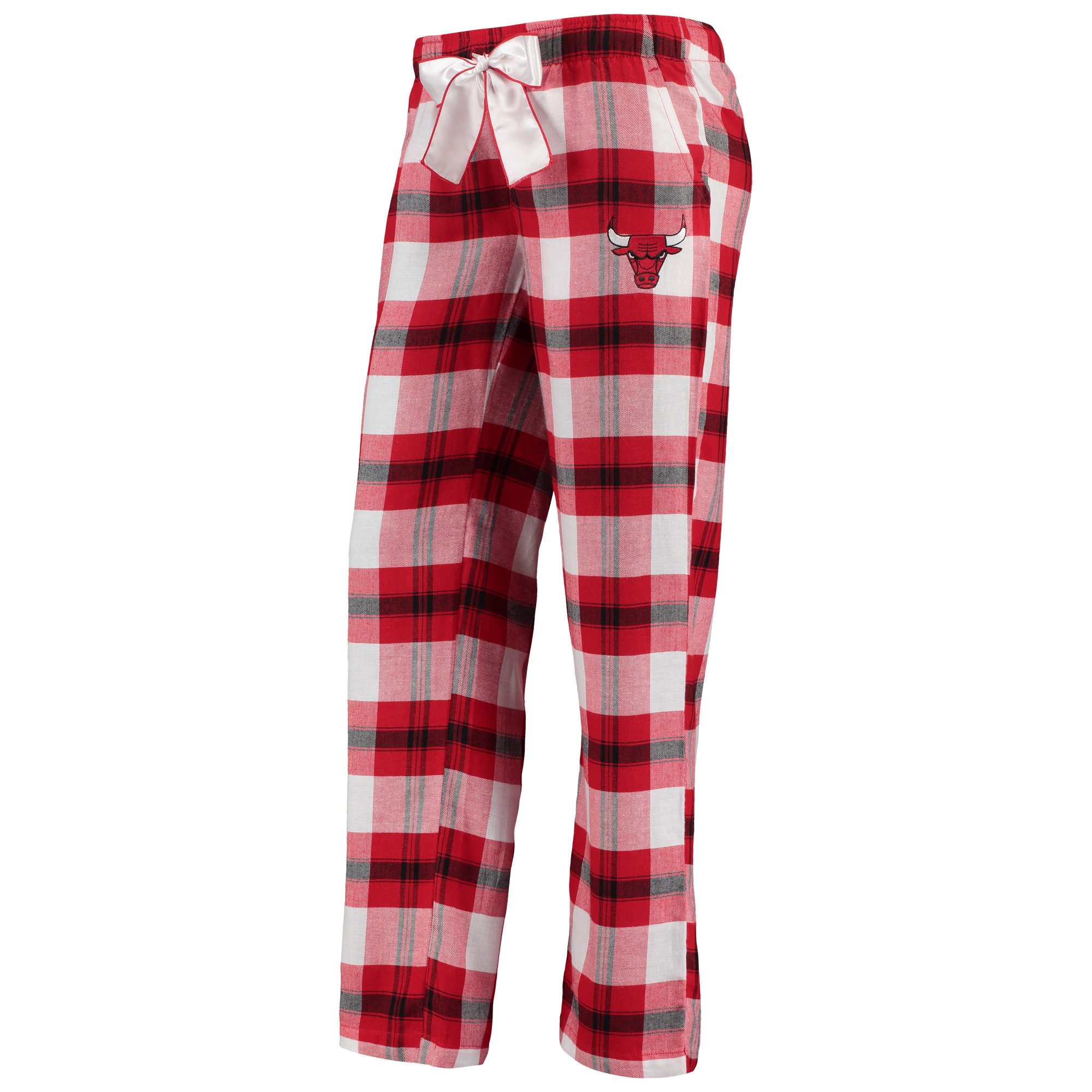 Chicago Bulls Concepts Sport Women's Headway Flannel Pants - Red/Black