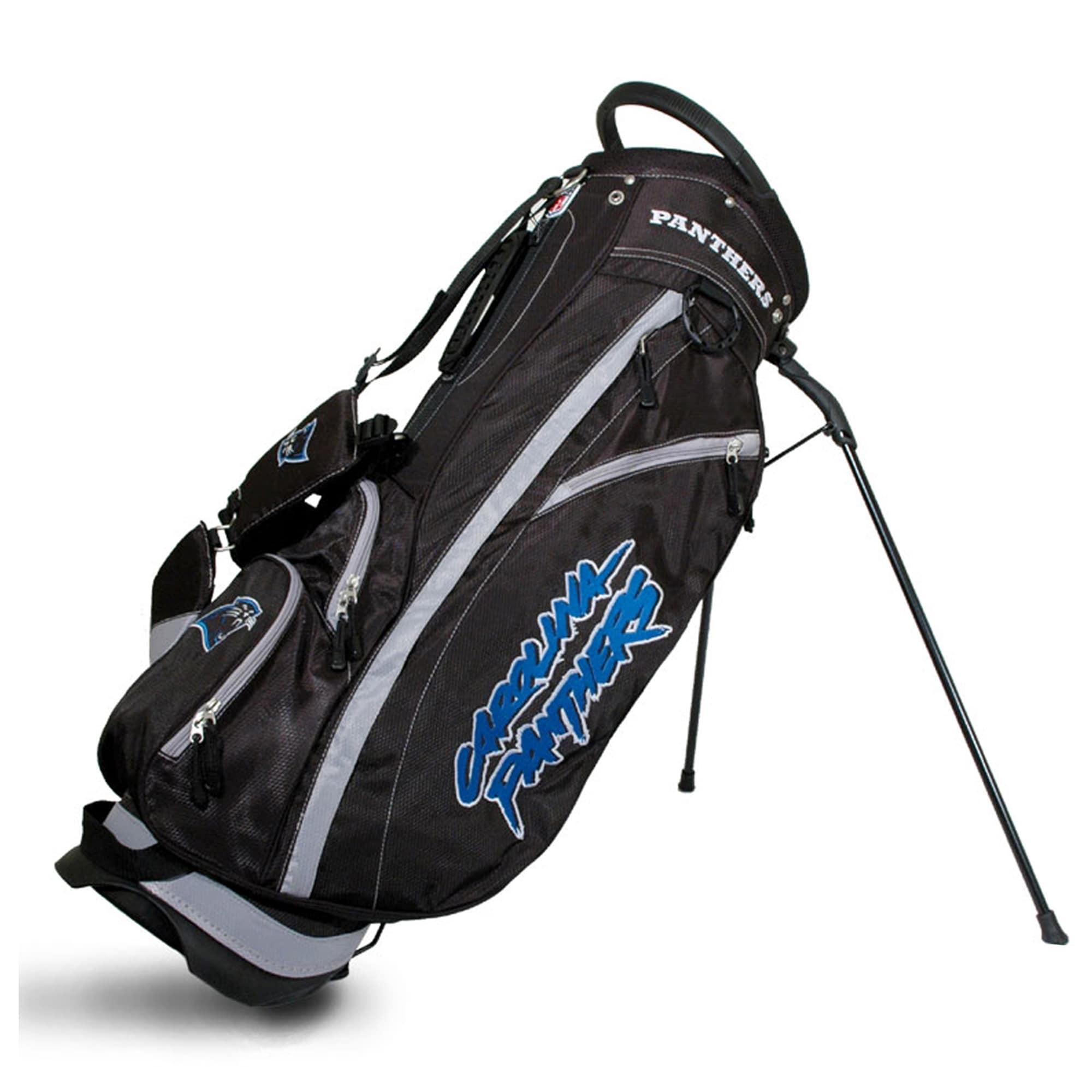 Carolina Panthers Fairway Stand Golf Bag