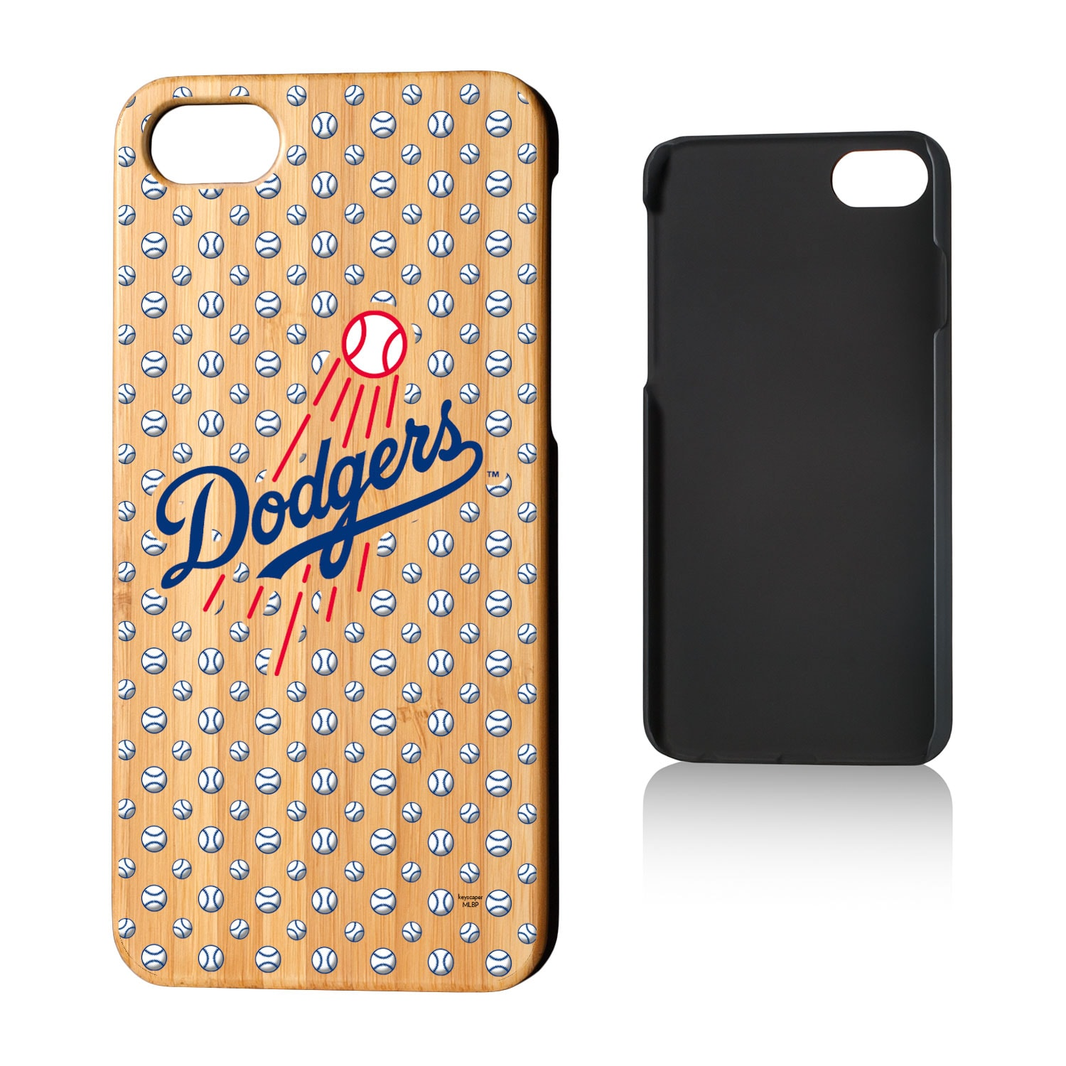 Los Angeles Dodgers iPhone 7/8 Baseball Bamboo Case