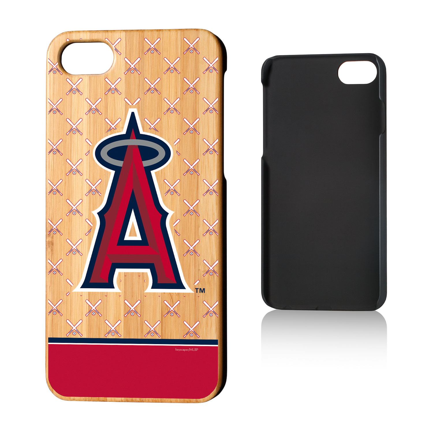 Los Angeles Angels iPhone 7/8 Bats Bamboo Case