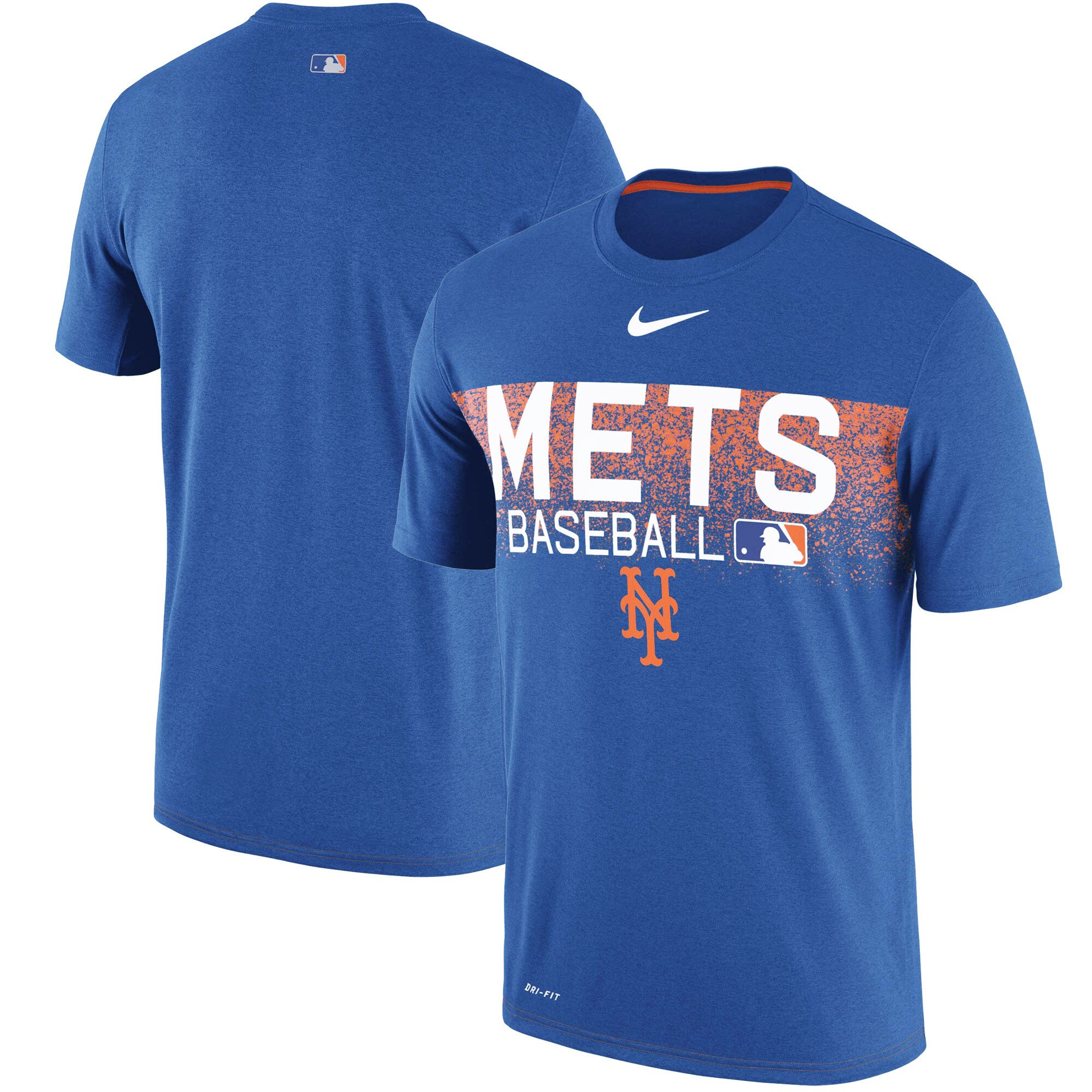 New York Mets Nike Authentic Collection Legend Team Issued Performance T-Shirt - Royal