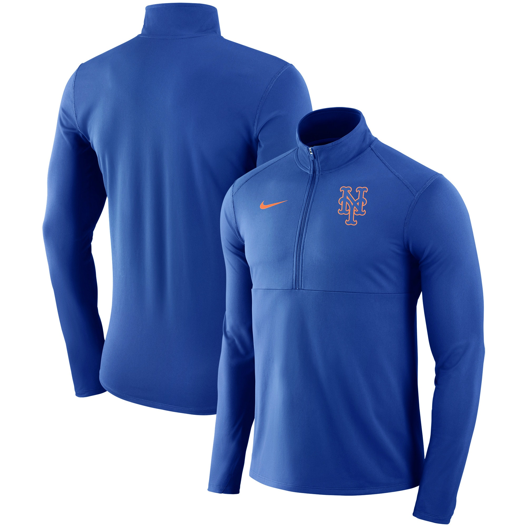 New York Mets Nike Dry Element Half-Zip Performance Pullover - Royal
