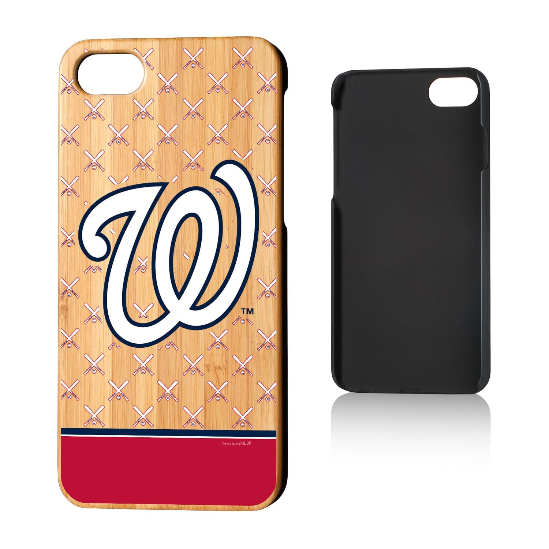 Washington Nationals iPhone 7/8 Bats Bamboo Case