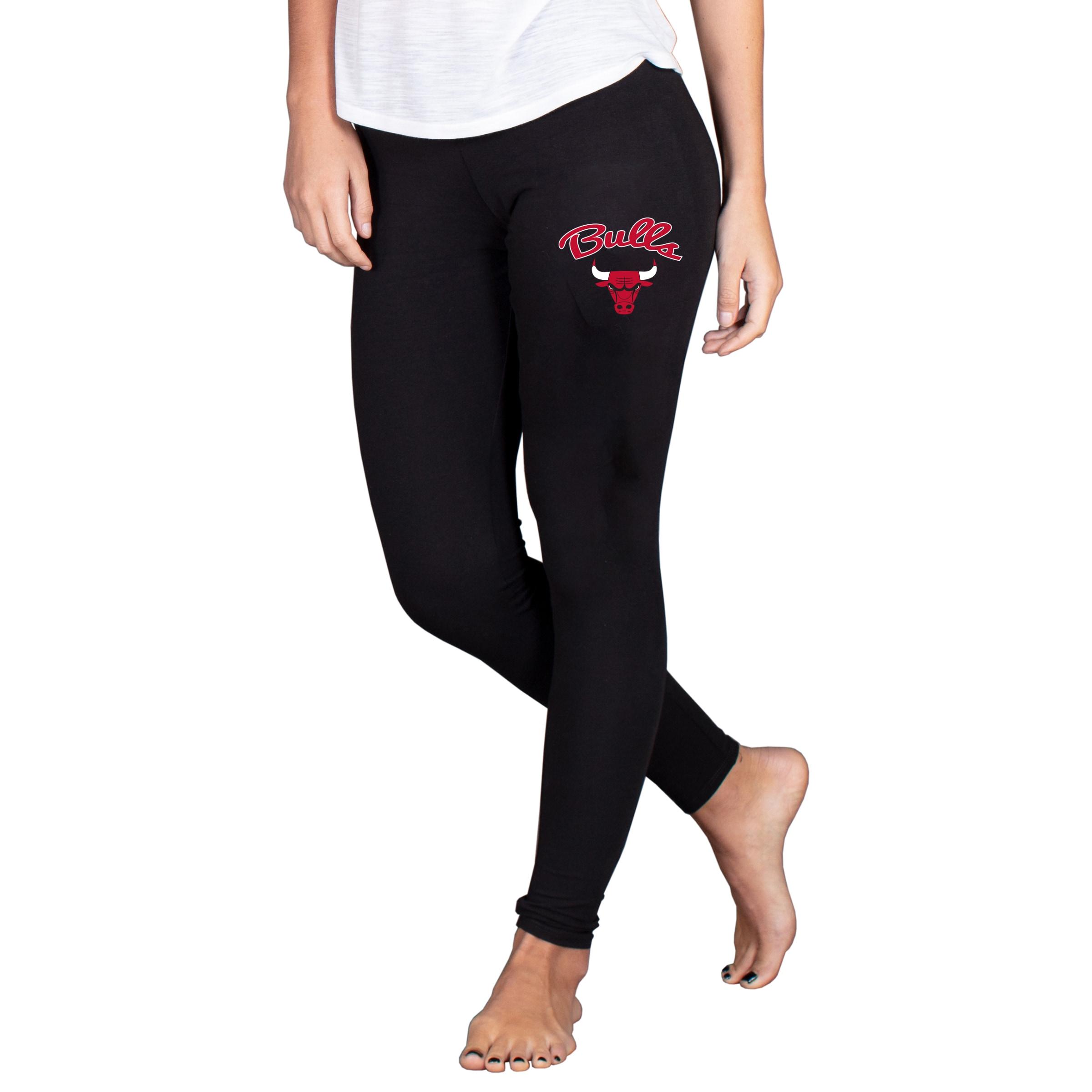 Chicago Bulls Concepts Sport Women's Fraction Leggings - Black