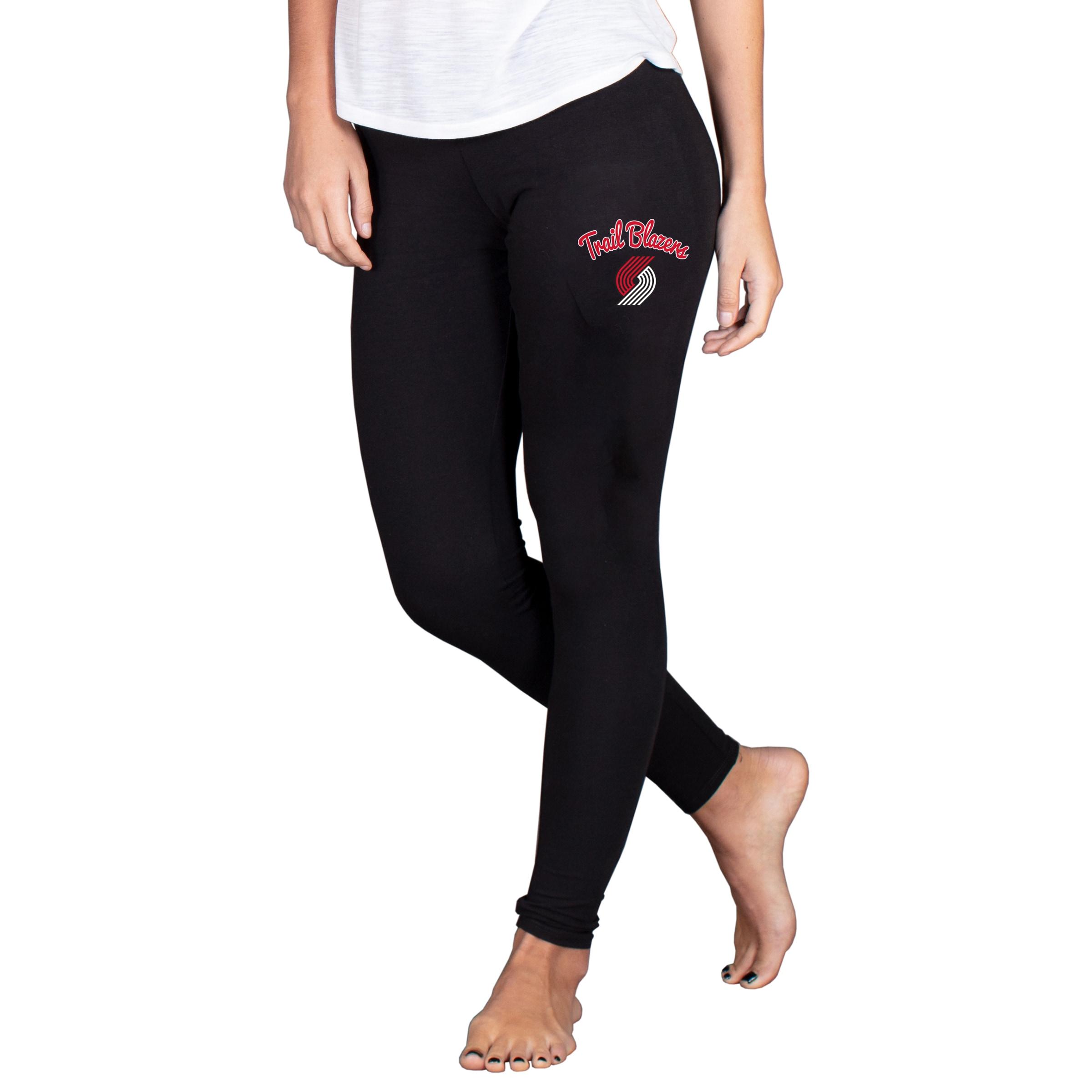 Portland Trail Blazers Concepts Sport Women's Fraction Leggings - Black