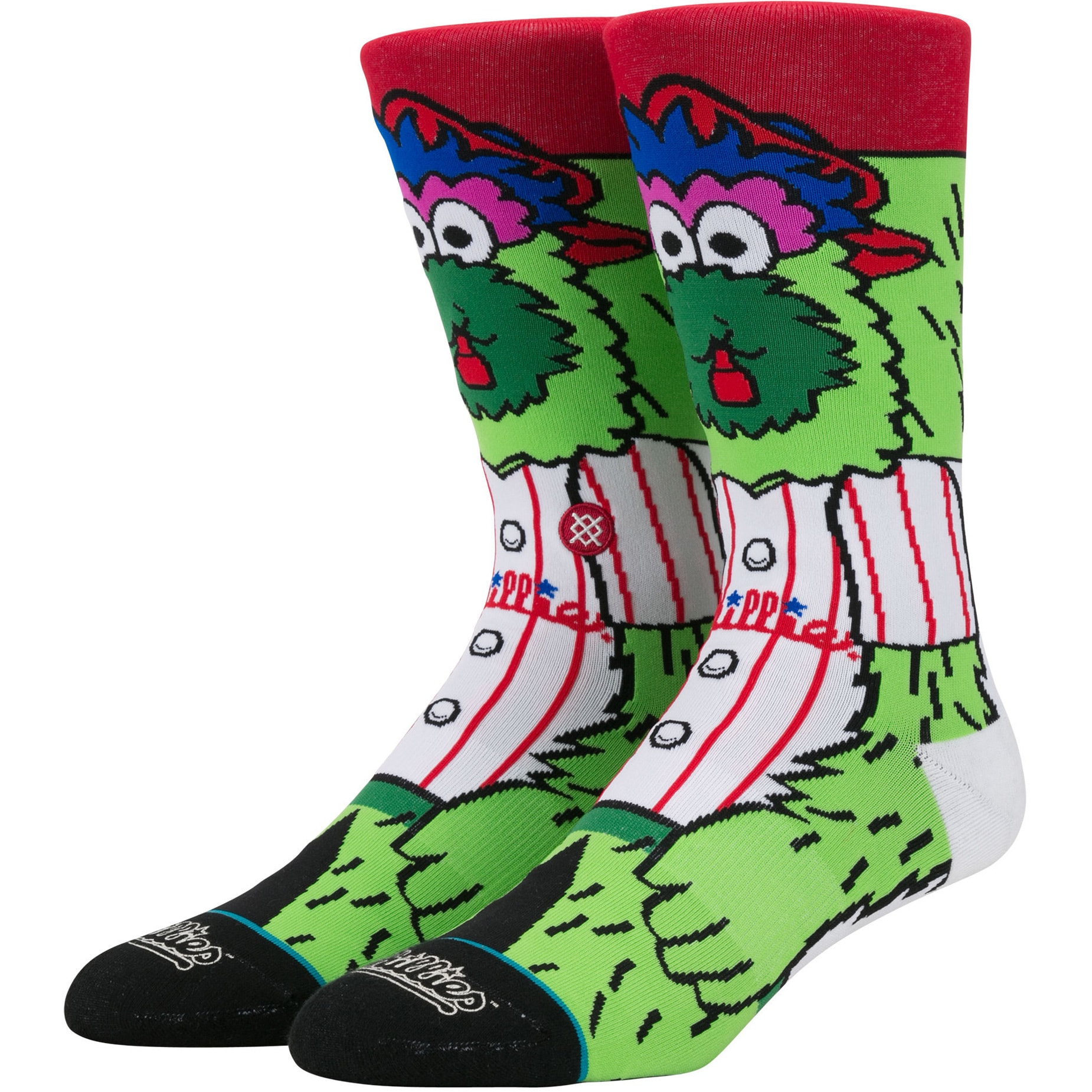 Philadelphia Phillies Stance Mascot Crew Socks