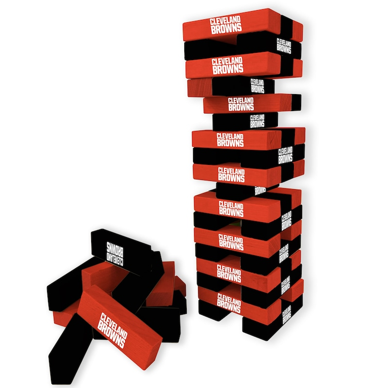 Cleveland Browns Wooden Table Top Stackers