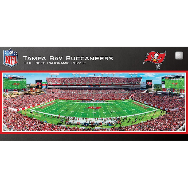 Tampa Bay Buccaneers 1000-Piece NFL Stadium Panoramic Puzzle