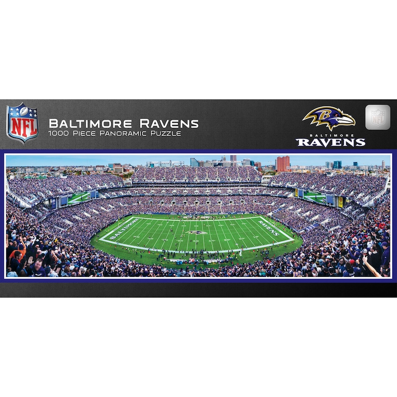 Baltimore Ravens 1000-Piece NFL Stadium Panoramic Puzzle
