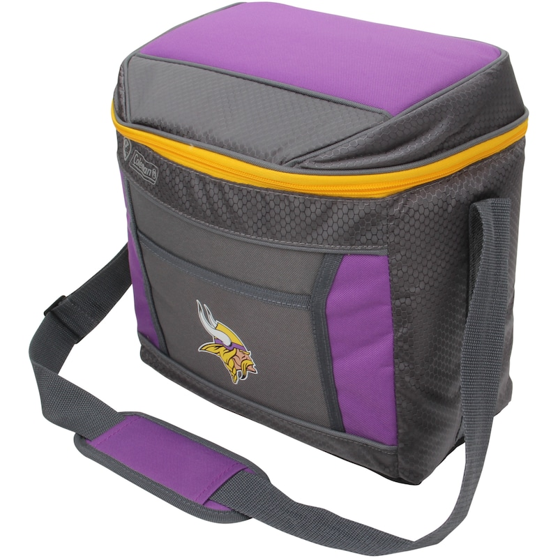 Minnesota Vikings Coleman 16-Can 24-Hour Soft-Sided Cooler