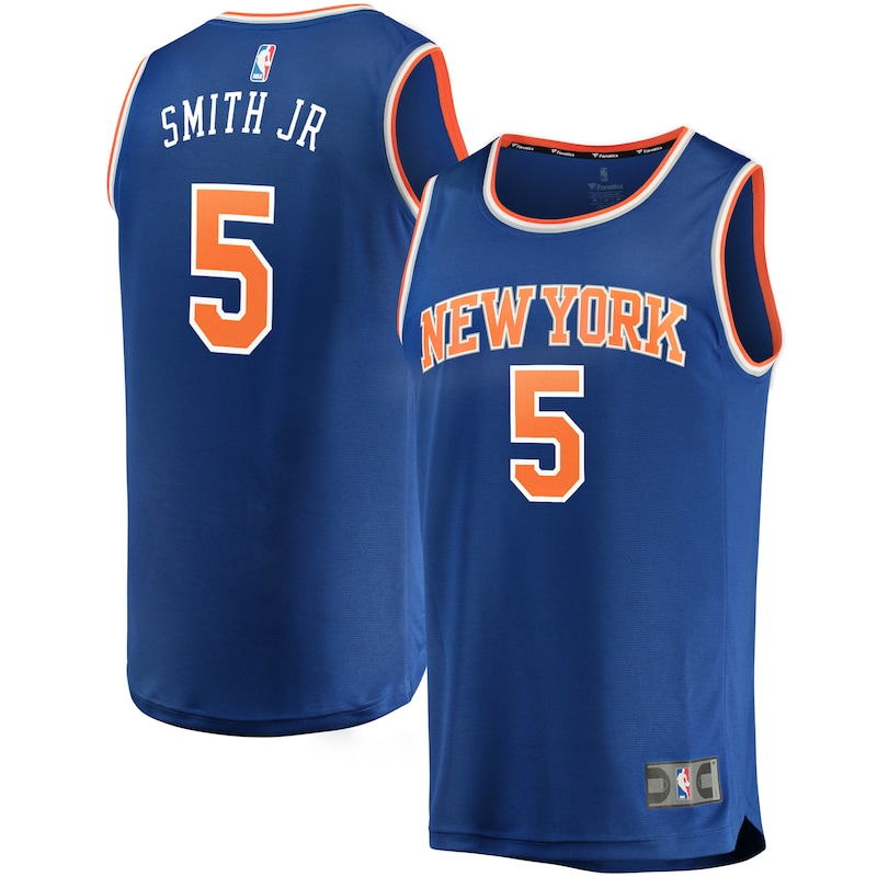 Dennis Smith Jr New York Knicks Fanatics Branded Fast Break Replica Jersey - Icon Edition - Royal