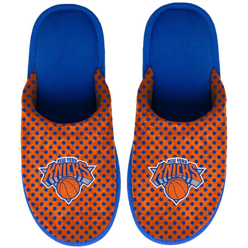 New York Knicks Women's Big Logo Scuff Slippers