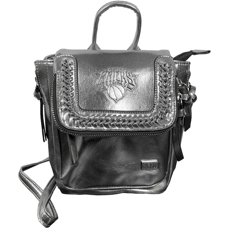 New York Knicks Metallic Mini Backpack