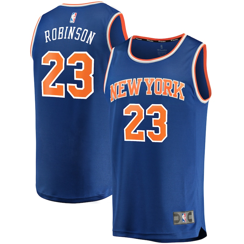 Mitchell Robinson New York Knicks Fanatics Branded Fast Break Replica Player Jersey - Icon Edition - Royal