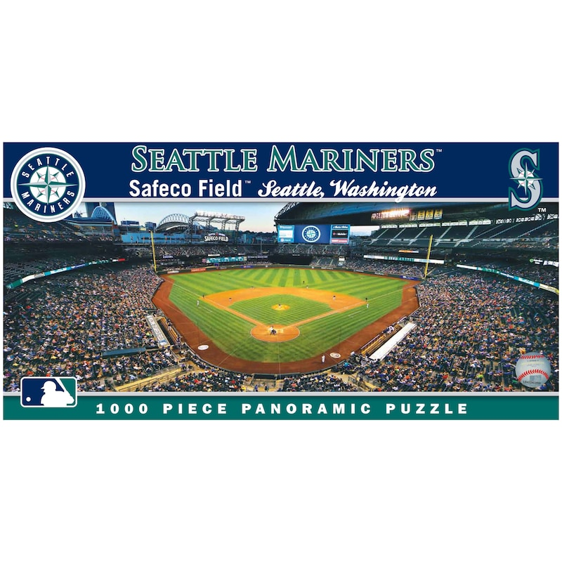 Seattle Mariners 1000-Piece Panoramic Puzzle