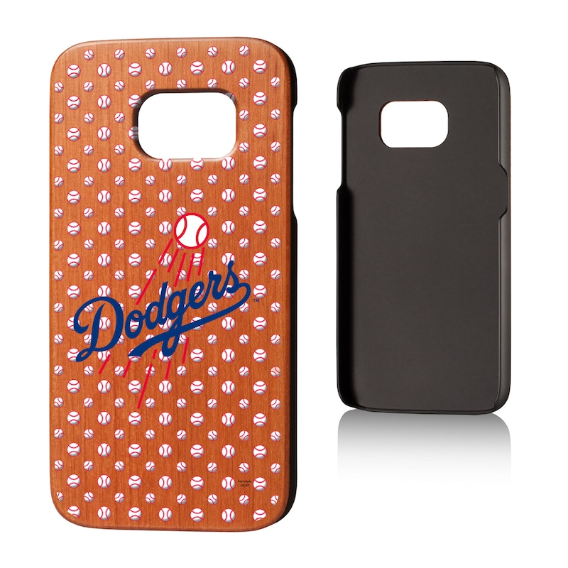 Los Angeles Dodgers Galaxy S7 Cherry Wood Case