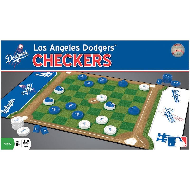 Los Angeles Dodgers Checkers Game